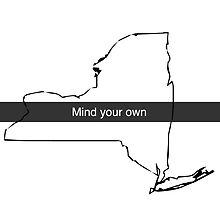 Mind Your Own NY by pd0009