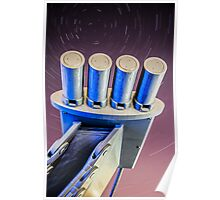 Millenium Bridge Star Trail Poster