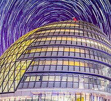 City Hall StarTrail by NPetridesPhotog