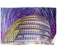 City Hall StarTrail Poster