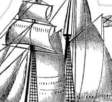 Victorian Era Ship - 5 Sticker