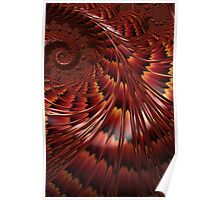 Tortoiseshell Abstract Poster