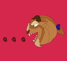 Beast Pacman by RebeccaMcGoran