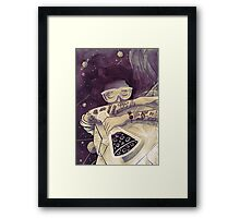 The Scientist Framed Print