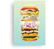 Eat the world Canvas Print