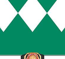 MMPR Green Ranger Phone Case by Russ Jericho