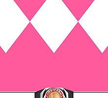 MMPR Pink Ranger Phone Case by Russ Jericho