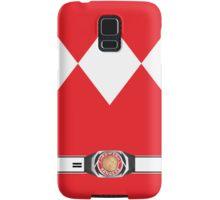 MMPR Red Ranger Phone Case Samsung Galaxy Case/Skin