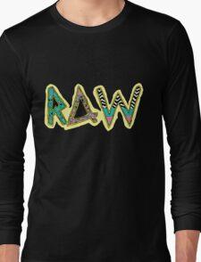 RAW 80's/90's PATTERN TEE Long Sleeve T-Shirt