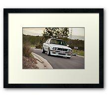 BMW E30 Framed Print