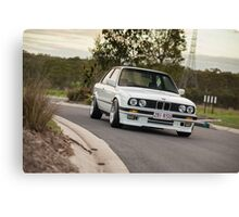 BMW E30 Canvas Print