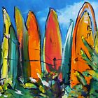 Surf boards by christine purtle