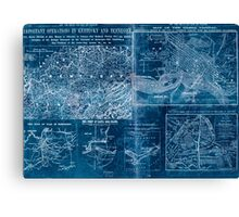 Civil War Maps 1907 War maps and diagrams Inverted Canvas Print
