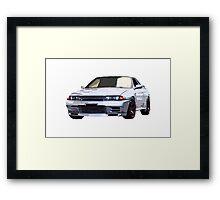 R32 GTR Framed Print