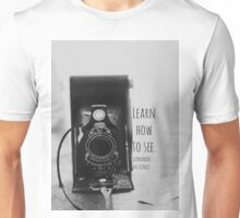 da vinci learn how to see Unisex T-Shirt