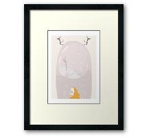 Snow Globe Dream Framed Print