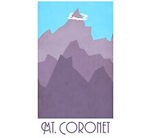 Mt Coronet - Pokemon Photographic Print