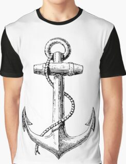 Classic Anchor Graphic T-Shirt