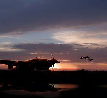 Pathfinder Sunset by J Biggadike