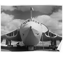 Mighty Victor tanker aircraft Poster