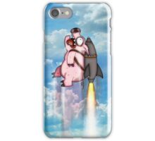Pigs can fly! iPhone Case/Skin