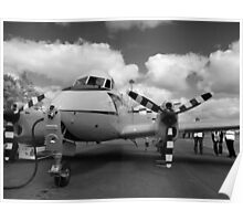 de Havilland DH104 Devon aircraft Poster