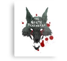 The North Remembers Metal Print