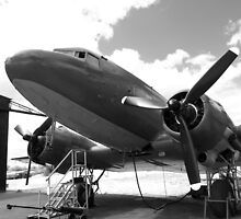 Douglas DC3 dakota aircraft by Robert Gipson