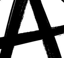Circle-A Anarchy Symbol (light t-shirt version) Sticker