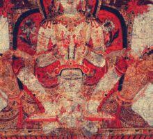 Red Buddha Sticker