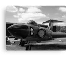 Gloster Javelin F(AW)9 aircraft Canvas Print