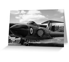 Gloster Javelin F(AW)9 aircraft Greeting Card