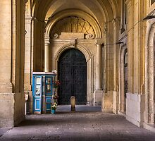 Palace Side-Door Valletta by Edwin  Catania