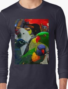 Birds of a Different Feather Long Sleeve T-Shirt