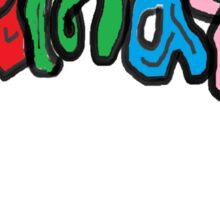 X'MAS Sticker