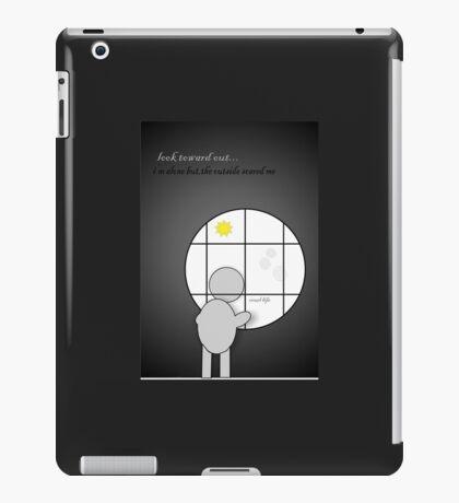 scary life iPad Case/Skin