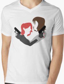 soviet spouses Mens V-Neck T-Shirt
