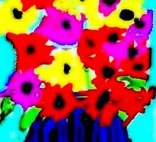 April Flowers Bouquet by Kater