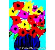 April Flowers Bouquet Photographic Print