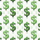 Dollar Sign Pattern by DFLCreative