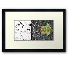 clever boy 1 Framed Print