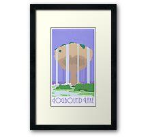 Fogbound Lake - Pokemon Mystery Dungeon Framed Print