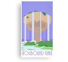 Fogbound Lake - Pokemon Mystery Dungeon Canvas Print
