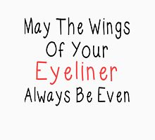 Eyeliner Womens Fitted T-Shirt