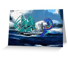 Is This the Way to America ? Greeting Card