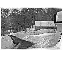 3/30/14 Snow Poster