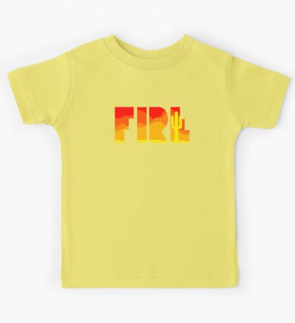 FIRE - T-shirt Kids Tee