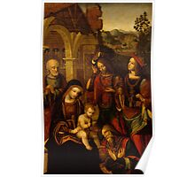 The Adoration of the Kings Poster