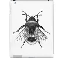 Black Bumblebee Illustration iPad Case/Skin