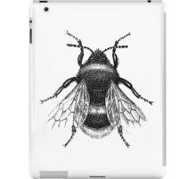 Black Bumblebee Illustration iPad Case/Skin